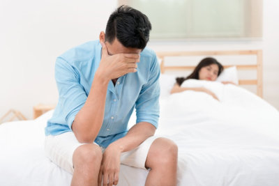 Husband unhappy and disappointed